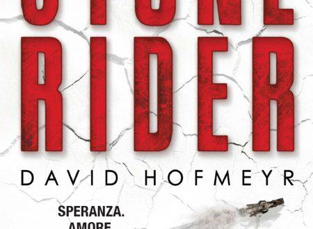 """Il romanzo rivelazione del 2016: """"Stone Rider"""" di David Hofmeyr"""
