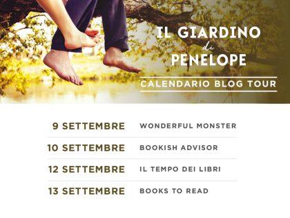 Blog Tour : Il Giardino di Penelope Teaser Trailer!