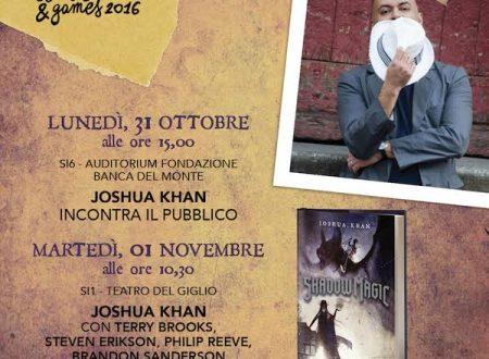 Joshua Khan al Lucca Comics and Games!