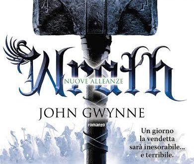 """Novità Fanucci Editore: """"Wrath. Nuove alleanze"""" di John Gwynne e """"2061: Odissea tre"""" di Arthur C. Clarke"""