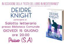 L'autrice Deidre Knight in Italia!