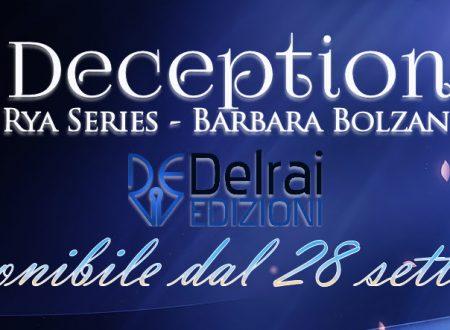 [ANTEPRIMA] Deception di Barbara Bolzan!