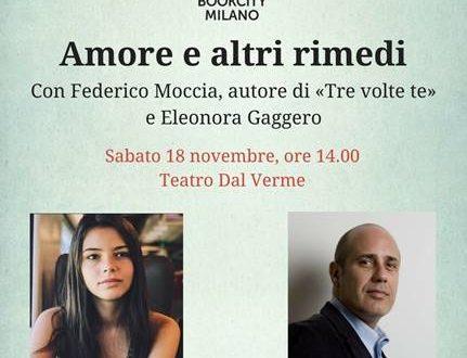Federico Moccia e Eleonora Gaggero a Bookcity Milano!