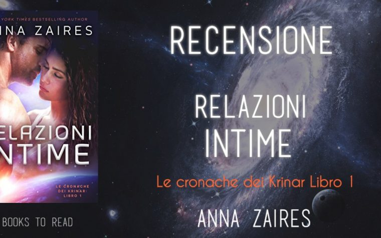 """[RECENSIONE] """"Relazioni Intime"""" di Anna Zaires!"""