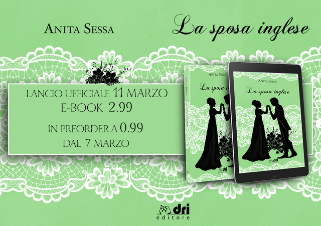 """[COVER REVEAL] """"La sposa inglese"""" di Anita Sessa!"""