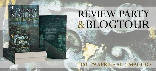 [REVIEW PARTY] La Terra Spezzata – Libro Uno. La Quinta Stagione di N.K. Jemisin!
