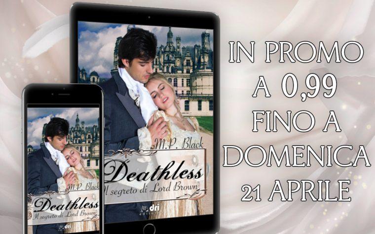 """Promo """"Deathless"""" di M.P.Black!"""