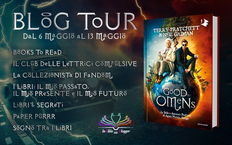 [BLOG TOUR: SERIE TV] Good Omens di Terry Pratchett e Neil Gaiman!