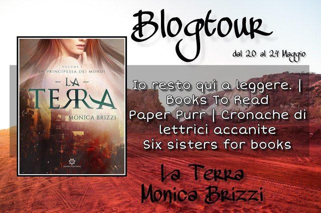 [BLOGTOUR – ESTRATTI] La Principessa dei Mondi – La Terra di Monica Brizzi!