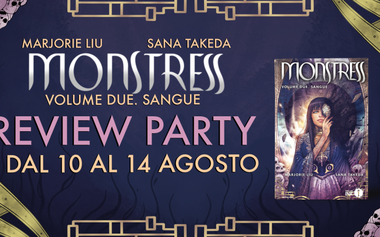 [REVIEW PARTY] MONSTRESS: Volume 2. Sangue.